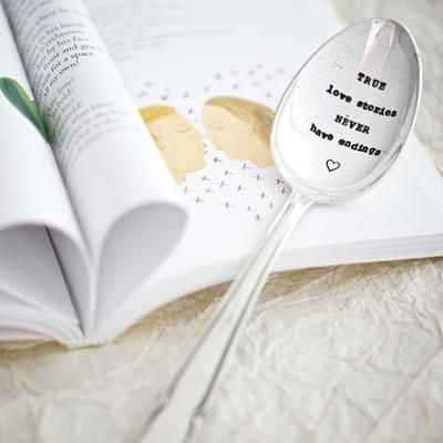 true love stories never have endings desert spoon
