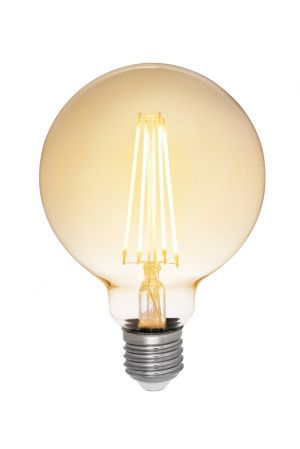 Airam Filament LED Glob 95mm Antique dimbar E27 35W
