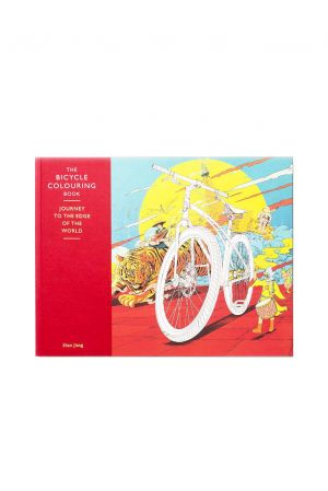 the bicycle colouring book