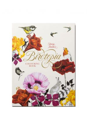 Bok Birdtopia colouring book