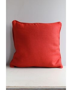 Cushion cover 50x50 cm linen dark orange