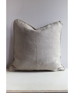 Cushion cover 50x50 cm linen beige