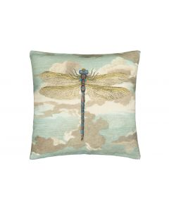 Kudde Dragonfly Over Clouds Sky blue 50 x 50